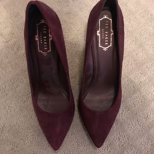 Ted Baker suede stiletto